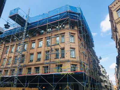 Fasadarbeten och målning
